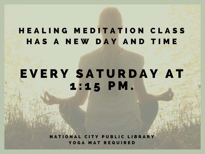 Meditation Class -Saturday