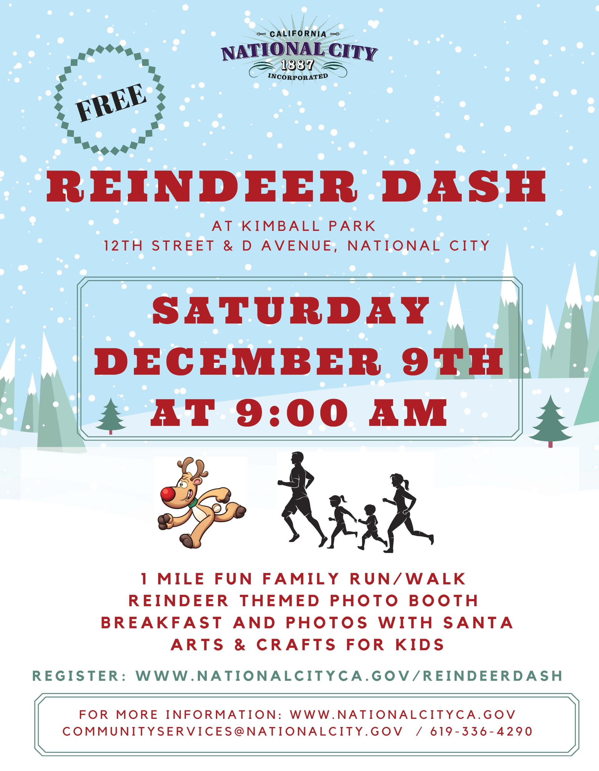 Flyer Reindeer Dash 2017