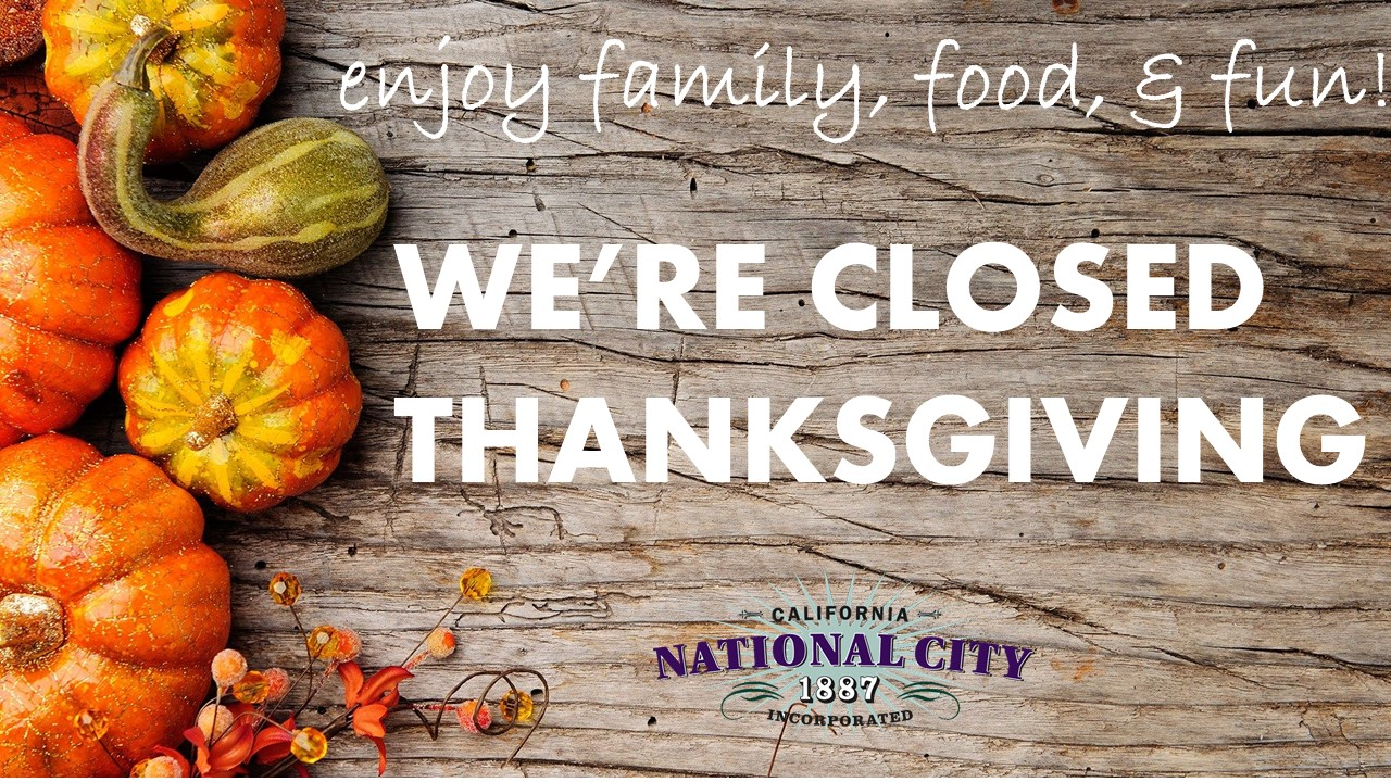 Thanksgiving Closure 2017