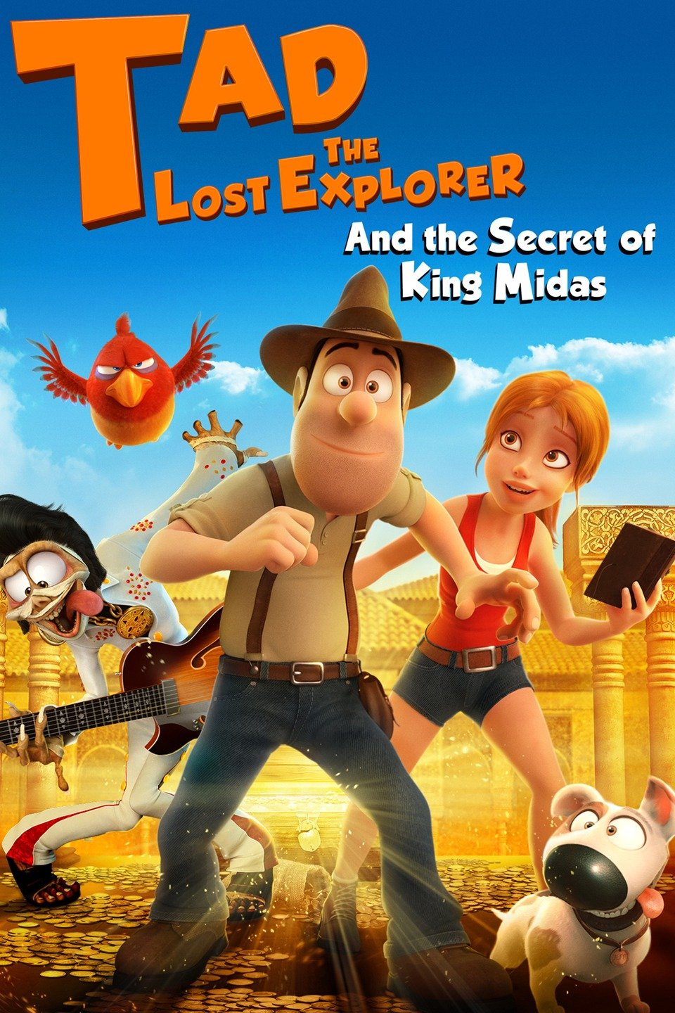 Tad the Lost Explorer and the Secret