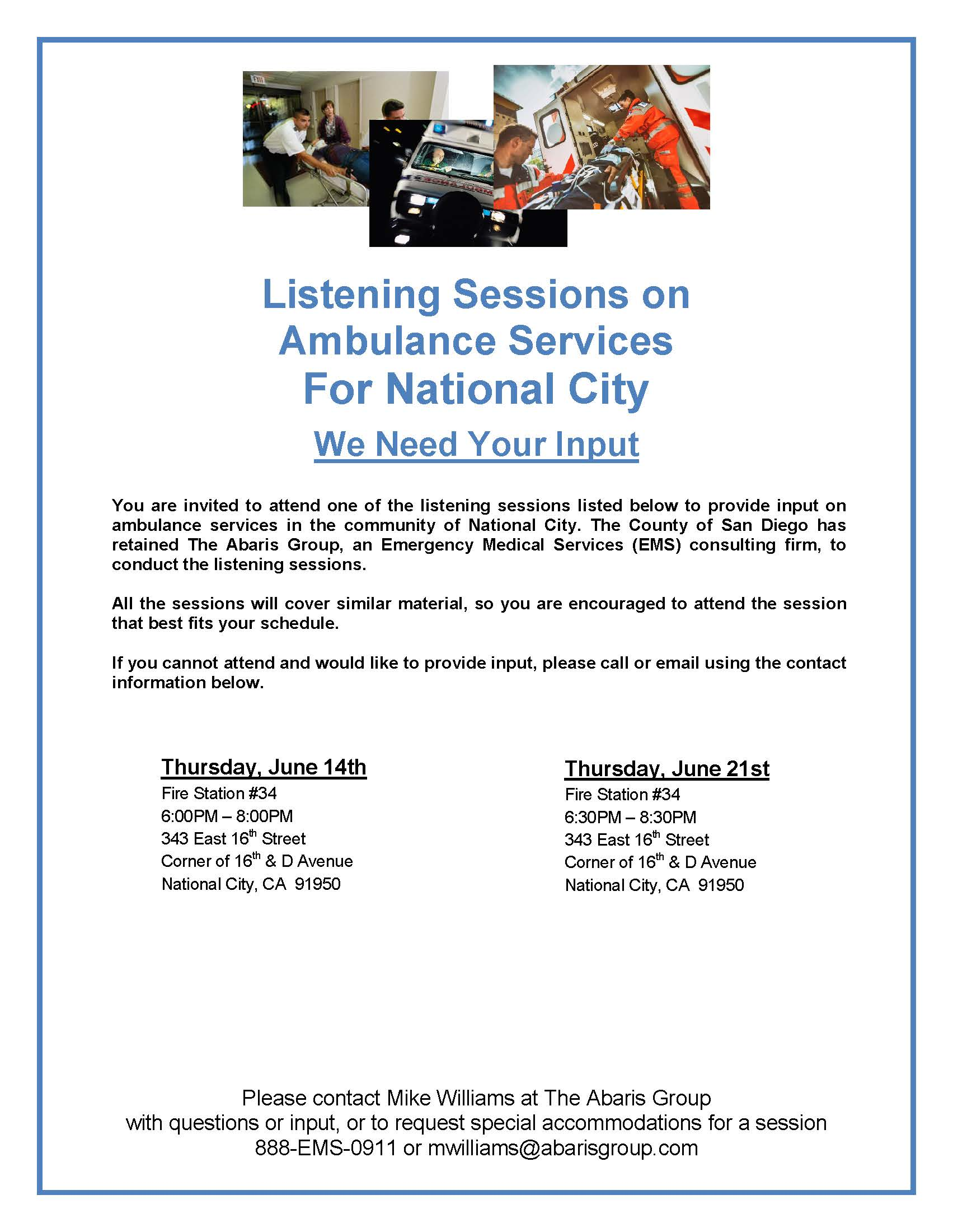 National City Ambulance Listening Session Flyer - 6.12.18.(FINAL) (002)