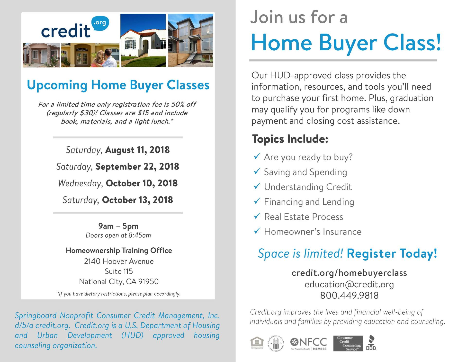 Upcoming_HBC_Classes_SanDiego_3rdQtr
