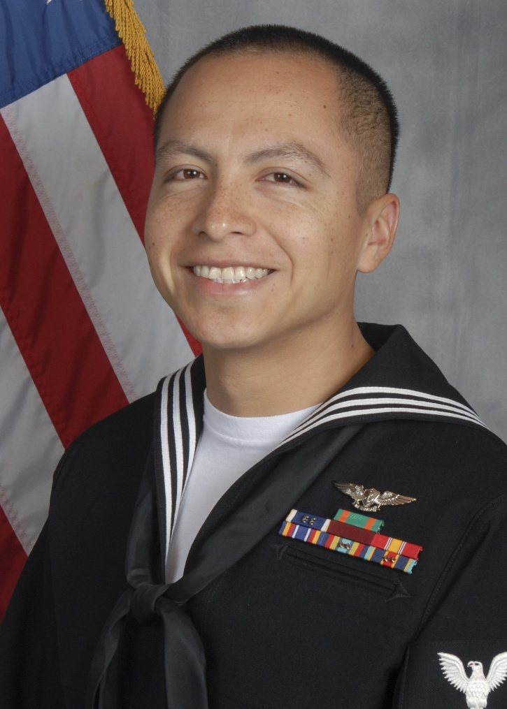 Daniel Solis in uniform