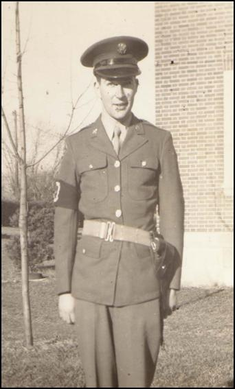 Howard Schwitkis in uniform 1944