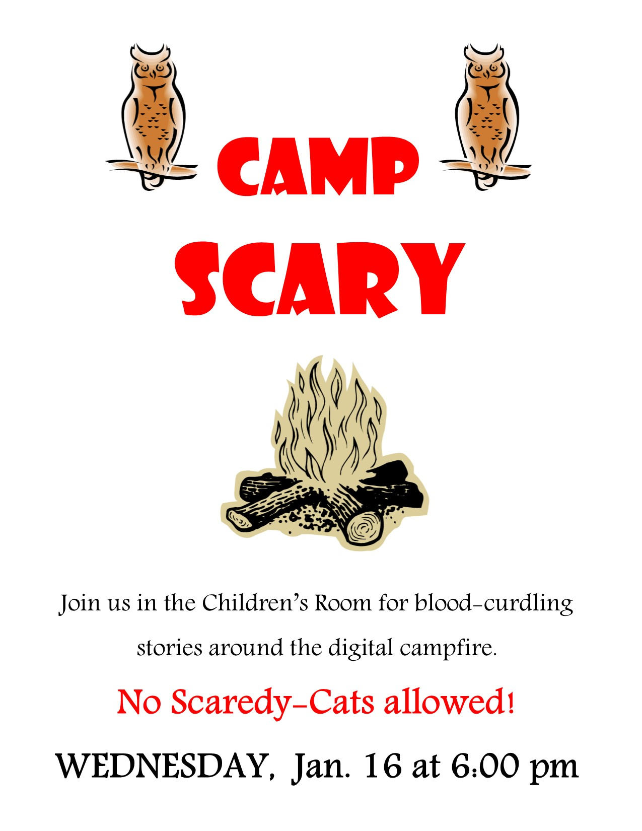 Camp Scary poster
