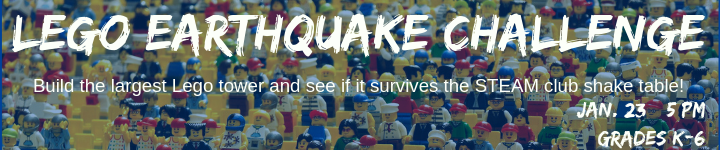 Lego Earthquake Challenge