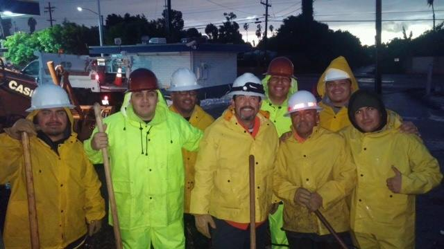 PW crews during rain storm