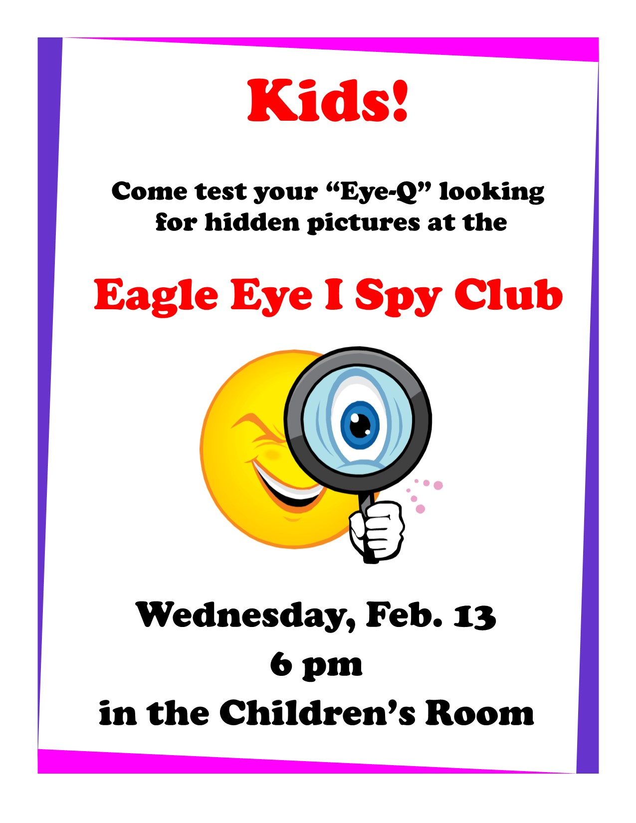 Eagle Eye I Spy poster
