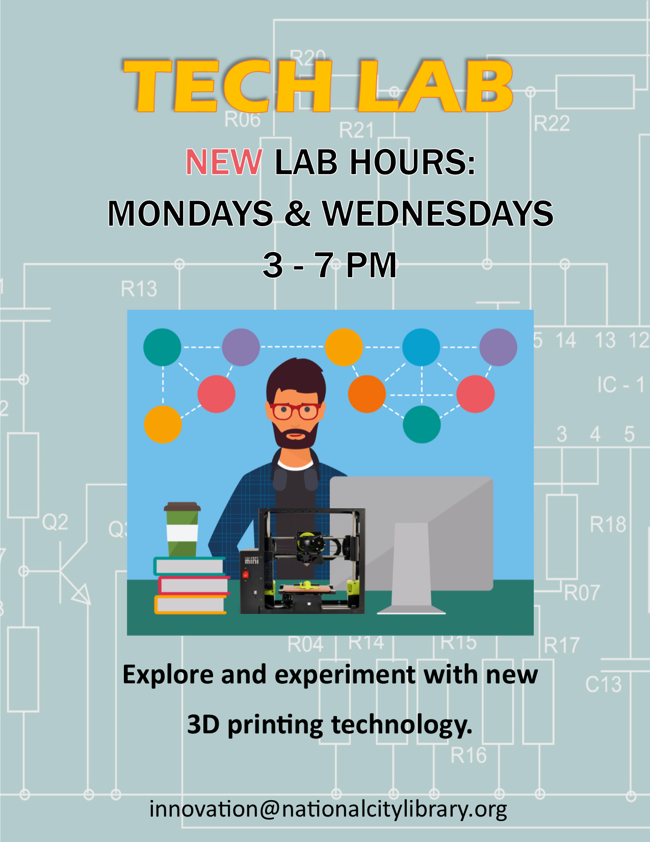 Tech Lab Flyer
