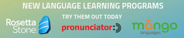 Language Learning Platforms Banner