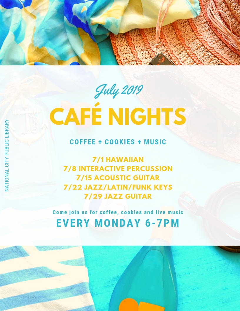 Cafe Nights in July