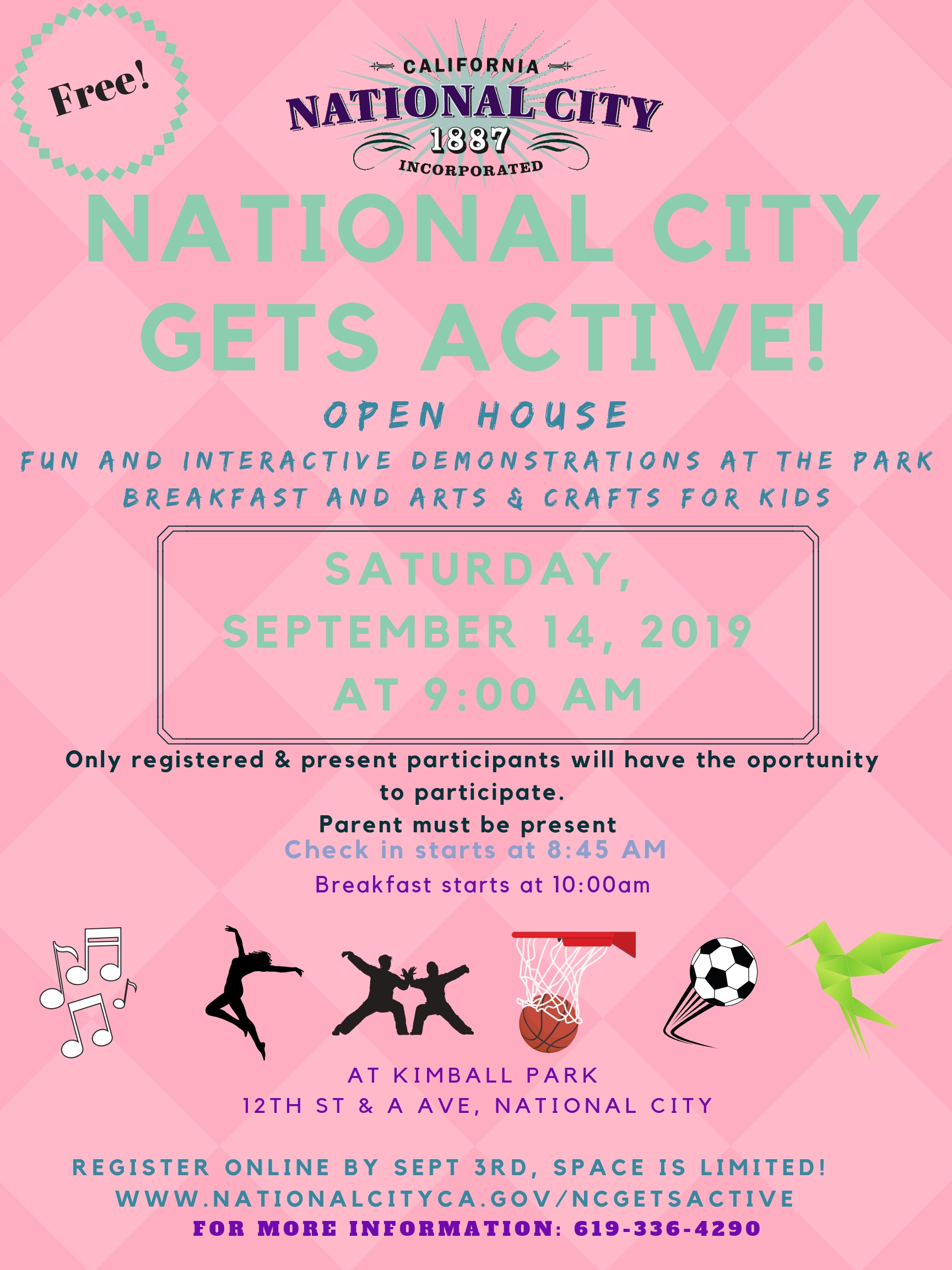National City Gets Active | National City, CA