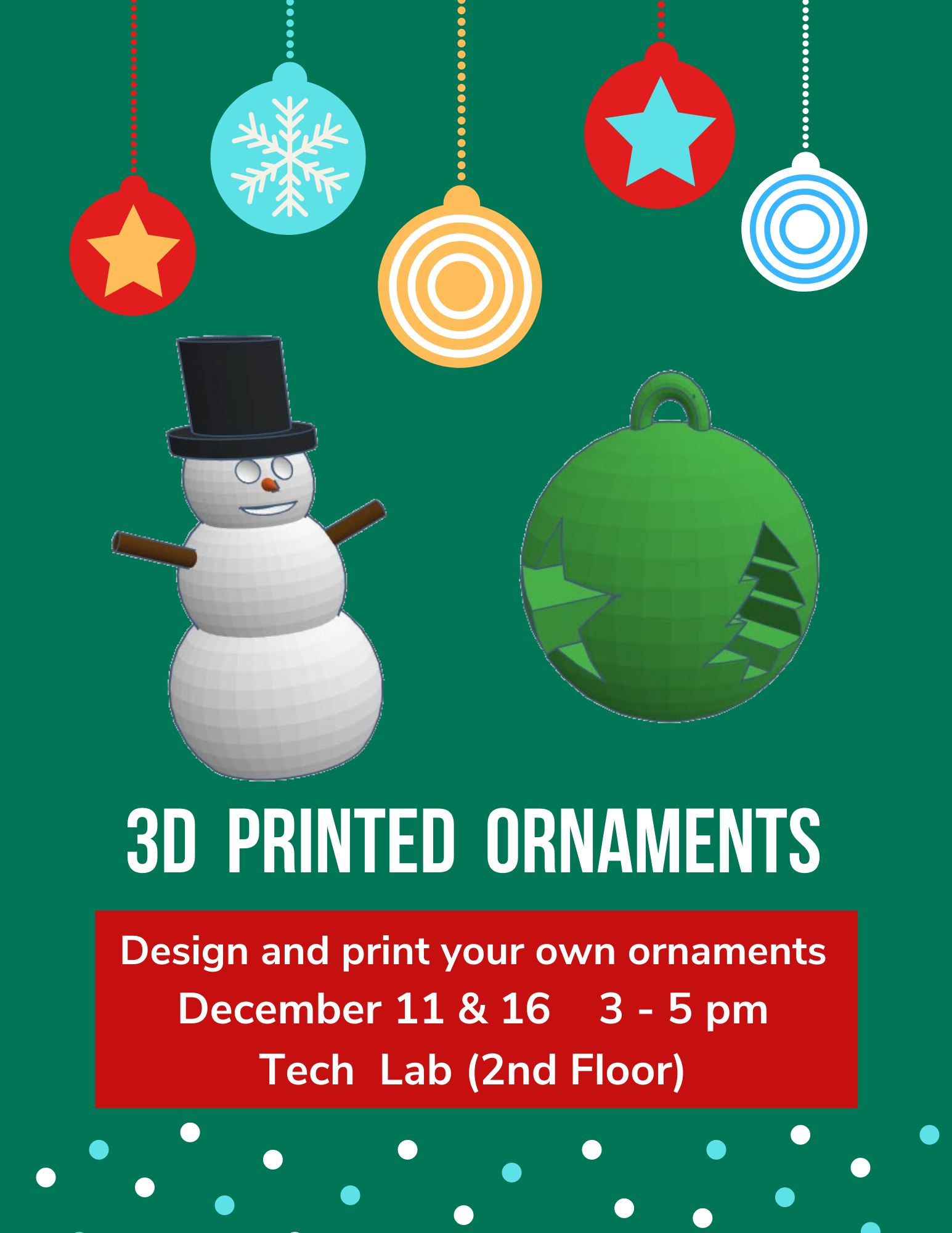 Holiday Ornament 3D Printing