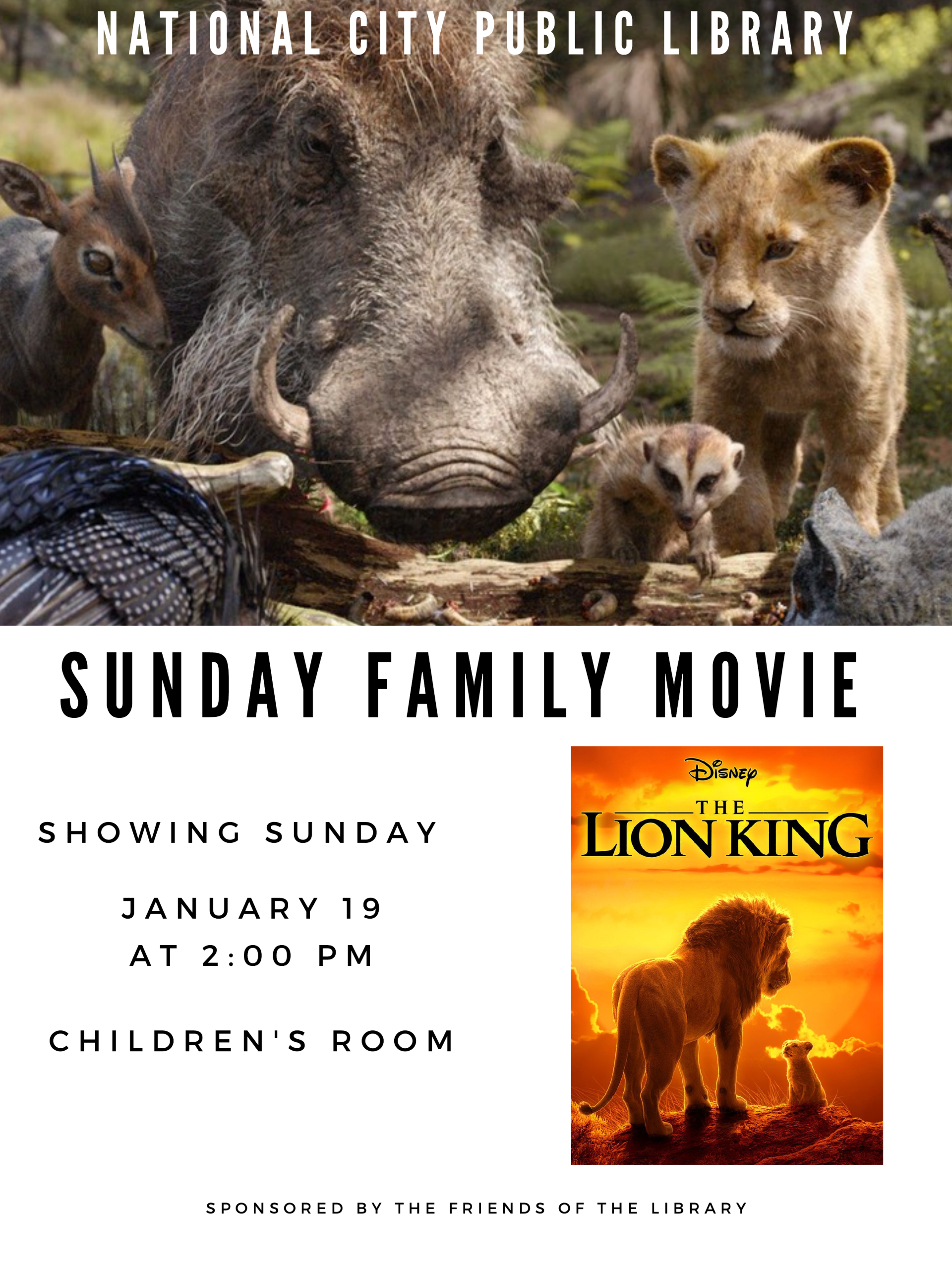 Jan 19 -  Lion King