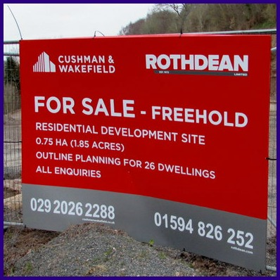 Construction Site Signs X
